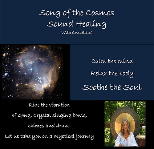 Song of the Cosmos Sound Healing With Concettina